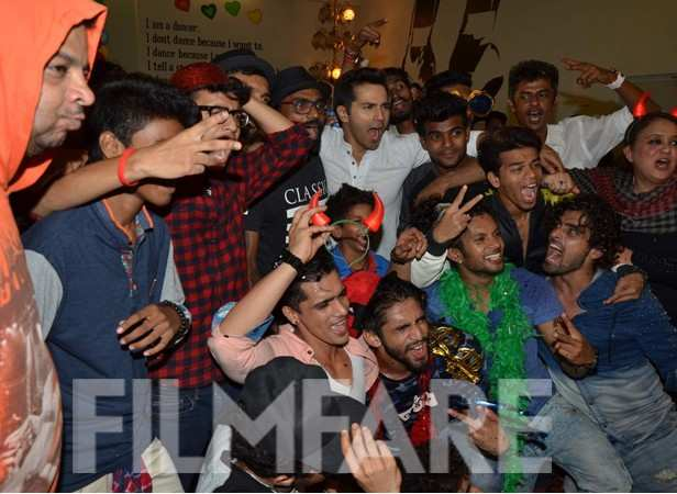 Varun Dhawan and the team of ABCD 2