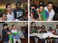 Varun Dhawan parties hard