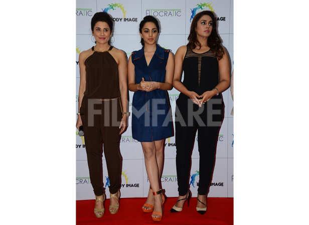Yasmin Karachiwala, Kiara Advani and Huma Qureshi