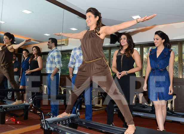 Zaheer Khan, Yasmin Karachiwala, Huma Qureshi and Kiara Advani