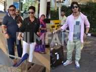 Rishi Kapoor, Neetu Singh, Vidyut Jamwal snapped at the airport