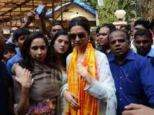 Deepika Padukone visits Siddhivinayak Temple with her mother