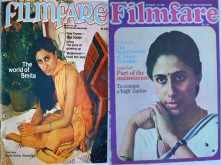 Smita Patil's Filmfare covers