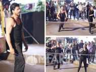 Shah Rukh Khan gets sporty