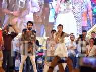 Shahid and Alia join Falguni Pathak