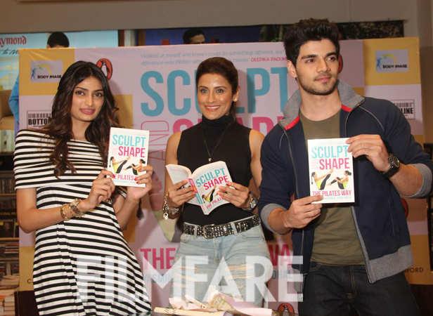 Athiya Shetty, Yasmin Karachiwala and Sooraj Pancholi