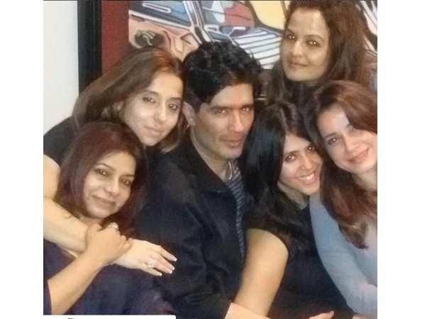 Manish Malhotra, Ekta Kapoor, Neelam Kothari