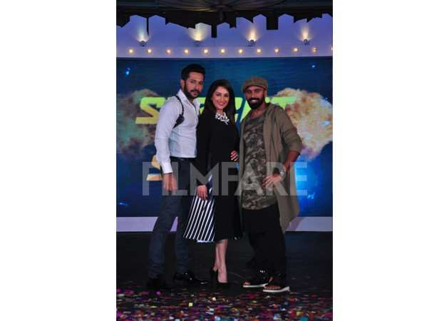 Terence Lewis, Madhuri Dixit and Bosco