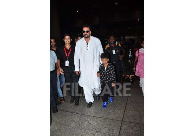 Sanjay Dutt and Shahraan
