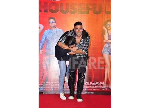 Riteish Deshmukh and Akshay Kumar