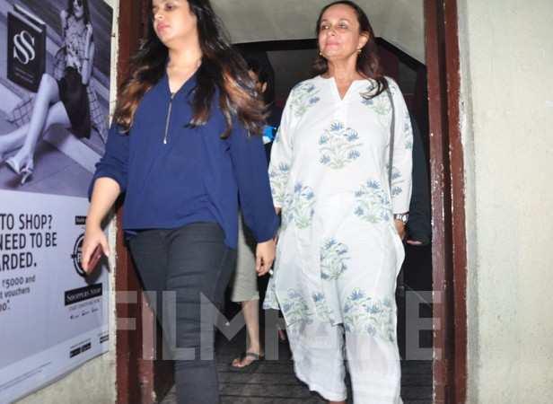 Shaheen Bhatt and Soni Razdan