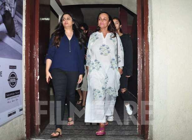 Shaheen Bhatt, Soni Razdan and Alia Bhatt