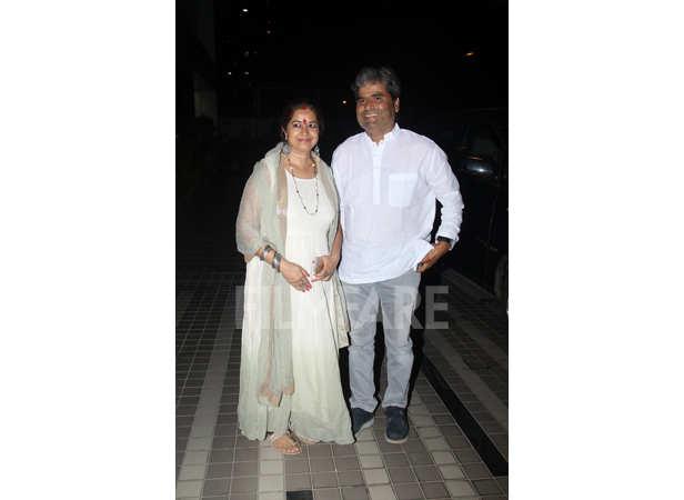 Rekha Bhardwaj and Vishal Bhardwaj