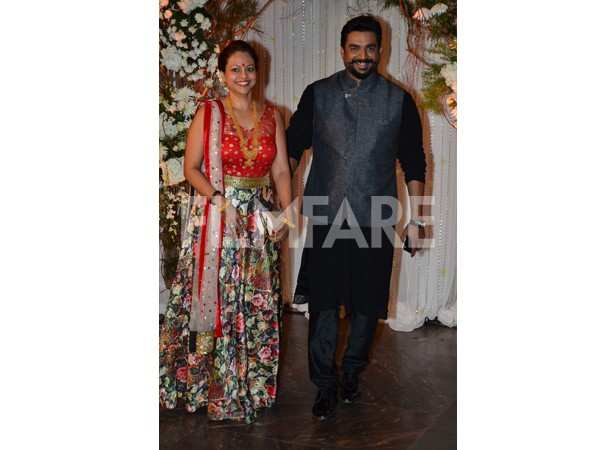 R Madhavan and wife Sarita