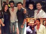 Shah Rukh Khan parties with KKR
