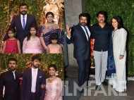 Star studded wedding reception of Chiranjeevi's daughter