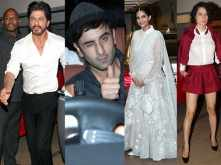 Shah Rukh Khan, Ranbir Kapoor, Kangana Ranaut, Sonam Kapoor at Ki & Ka success bash