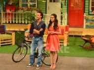 Shraddha Kapoor and Tiger Shroff promote Baaghi with Kapil Sharma