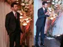 Ranbir Kapoor attends the Bipasha Basu-Karan Singh Grover wedding in style