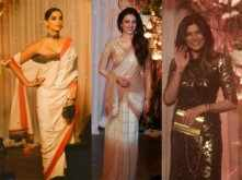 Sonam Kapoor, Tabu and Sushmita Sen attend the Bipasha-Karan Wedding