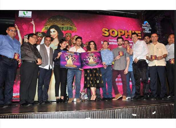 Varun Dhawan launches Sophie Choudrys new single