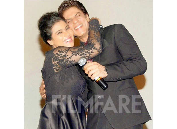 Shah Rukh Khan and Kajol celebrating 20 years of DDLJ