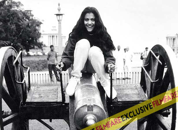 Kajol at her candid best