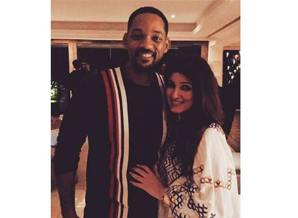 Will Smith and Twinkle Khanna