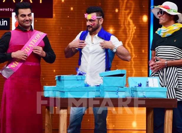 Chunky Pandey, Sanjay Kapoor and Arbaaz Khan
