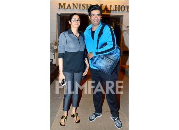 Sridevi and Manish Malhotra