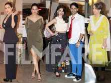 Amrita-Malaika Arora, Kunal-Soha, Sharmila Tagore and many others snapped at Saif and Kareena's Christmas party