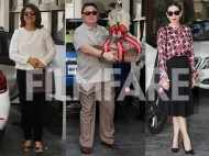 Karisma Kapoor, Rishi Kapoor, Neetu Kapoor, Randhir Kapoor and more spotted at the Kapoor Xmas brunch