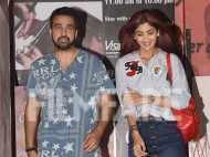 Shilpa Shetty and Raj Kundra clicked at the movies
