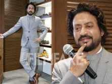 Irrfan Khan looks uber stylish at an event