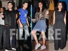 Ranbir Kapoor, Alia Bhatt, Karan Johar, Konkona Sen Sharma, Ayan Mukerji party hard