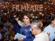 Vidya Balan inaugurates a selfie point in Mumbai