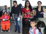 It's holiday time for Kajol, Ajay Devgn, Nysa and Yug