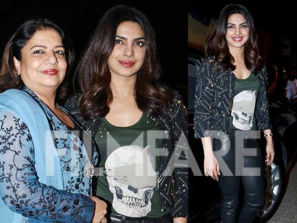 Priyanka Chopra and mom Madhu Chopra party together ...