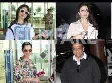 Tamannaah Bhatia, Soha Ali Khan, Anurag Basu spotted at the airport