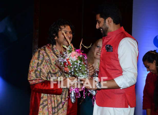 Abhishek Bachchan and Ayaan Ali Khan