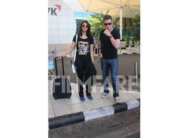 Ileana DCruz and Andrew Kneebone