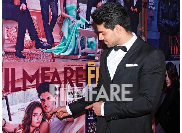 Sooraj Pancholi checks out his Filmfare cover
