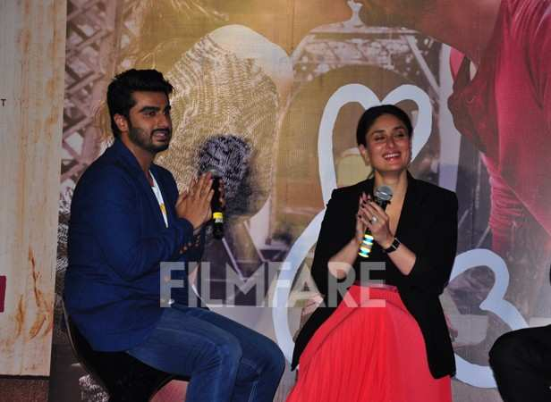 Arjun Kapoor and Kareena Kapoor Khan