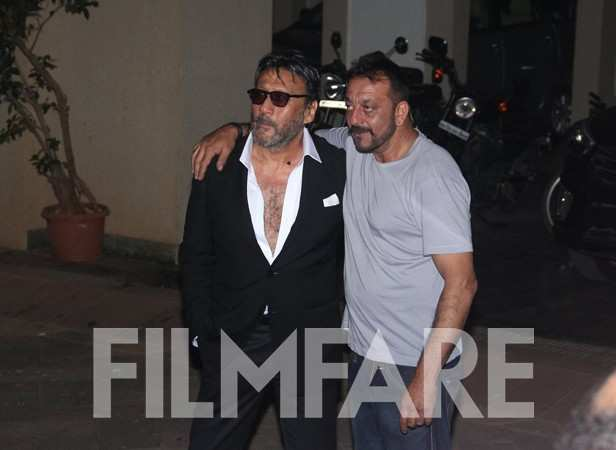 Jackie Shroff and Sanjay Dutt