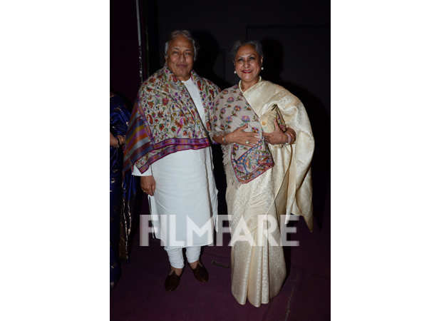 Ustad Amjad Ali Khan and Jaya Bachchan