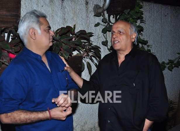 Mahesh Bhatt and Hansal Mehta