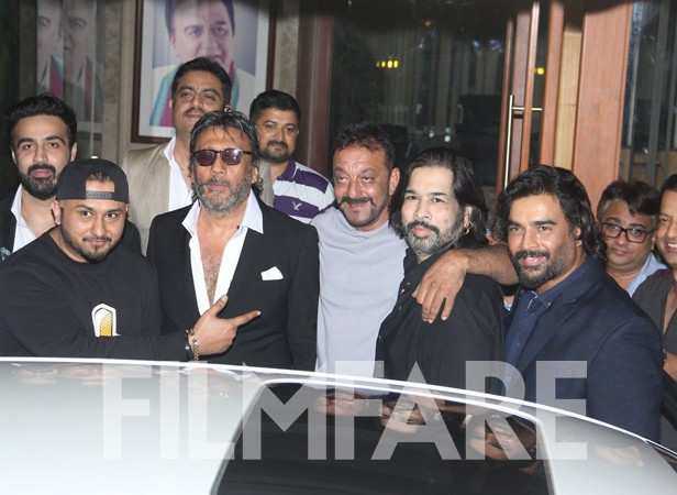 Yo Yo Honey Singh, Jackie Shroff, Sanjay Dutt and R Madhavan