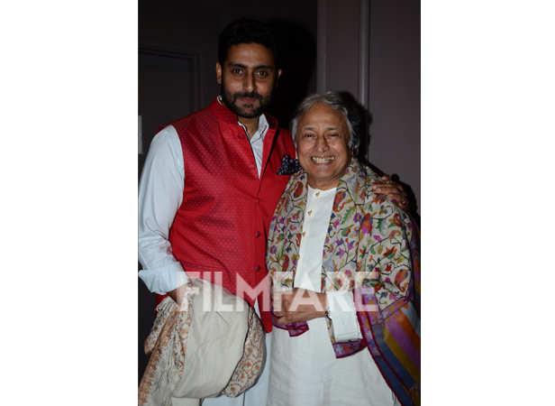 Ustad Amjad Ali Khan and Abhishek Bachchan