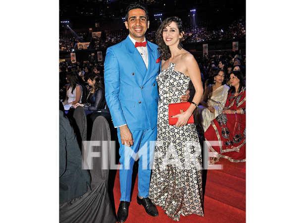 Gulshan Devaiah and wife Kalliroi