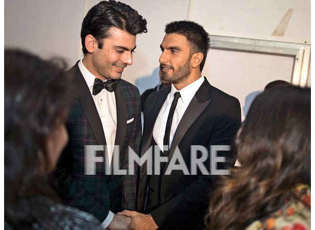 Fawad Khan and Ranveer Singh bond backstage